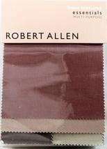 Robert Allen Color Library Linen Textures Fabric Book 148 pieces - $25.73
