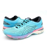 Asics Womens 10 Gel Kayano 25 Blue Lace Up Low Top Running Sneakers Shoe... - $29.99