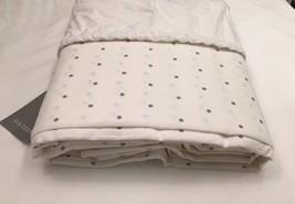 Restoration Hardware Teen Pin Dot Duvet Cotton Full/Queen French Blue NE... - $69.99