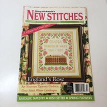 Mary Hickmott's New Stitches Magazine #57 Irish Setter Spring Flower's B... - $12.59