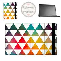 Geometric Triangle Rainbow Tablet Flip Case - $29.99+