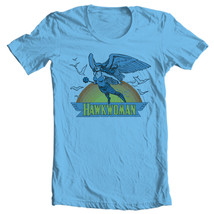 Hawkwoman T-shirt retro old cotton free shipping comic superhero DC DCO183 image 2