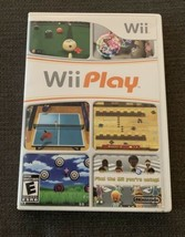 Nice! Wii Play Nintendo Wii 2007 CD Game with case and Manual Free shipping - $20.78