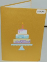 Lovepop LP1782 Happy Birthday Cake Pop Up Card White Envelope Cellophane Wrapped image 2