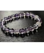 Ametrine gemstone stretch bracelet #046 - $17.50