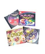 Bejeweled Twist Pop Games PC CD Rom Luxor 3 Mumbo Jumbo Games PC CD Rom ... - $15.88