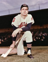 ROCKY COLAVITO 8X10 PHOTO CLEVELAND INDIANS BASEBALL PICTURE MLB COLOR - $3.95