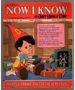 Walt Disney's Now I Know #43 1973-U.K-Pinocchio-G - $31.53