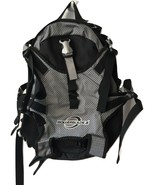 Black and Grey Rollerblade Inline Skating Shoes Storage Travel Backpack EUC - $149.99