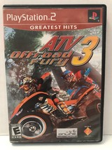 PlayStation 2, ATV OFFROAD FURY 3, E for Everyone, TESTED, Working with ... - $6.79