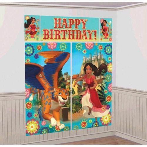 Elena of Avalor Scene Setter Wall Decorating Kit Birthday Party