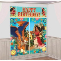 Elena of Avalor Scene Setter Wall Decorating Kit Birthday Party - $8.39