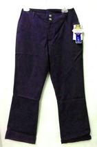 Crest Women's Indigo Navy 8 Nursing Snap Zipper Flare Leg Scrub Pants 146 New - $19.57