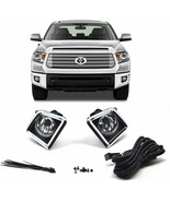 Fog Light Lamp Bezel Kit with Wiring and Switch for Toyota Tundra 2014-2018 - $29.65