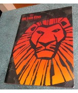 DISNEY Presents THE LION KING The Broadway Musical 1997 program / specia... - $9.77