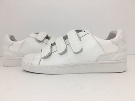 Ash Women's Sneakers Flats Shoes Fashion White Leather SIZE 40 US 10 M - $48.51