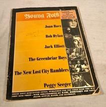 "VINTAGE 1963 SONGBOOK ""YOUNG FOLK SONG BOOK"" JOAN BAEZ BOB DYLAN PETE SE... - $29.69"