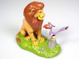 Disney Lion King toy Simba Zazu Figure cake topper  - $18.41