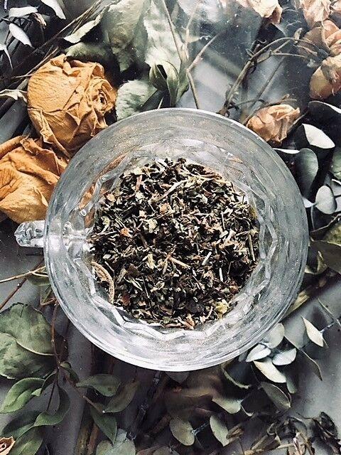 "Organic ""Serenity Nips"" Loose Fresh Tea Relaxing & Peace Inducing Evening Blend"