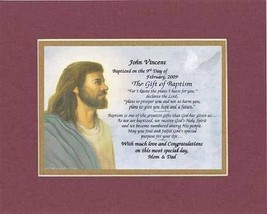 Personalized Touching and Heartfelt Poem for Baptism - The Gift of Bapti... - $22.72