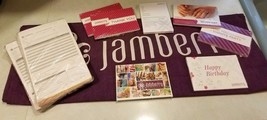 Lot of New Jamberry Consultant Business Supplies with Jamberry Table Runner - $59.99