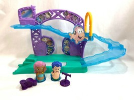 Bubble Guppies Rock and n Roll Stage Playset Figures Gil Molly Drums Mic... - $44.54