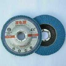 """200pcs Premium Flap Discs 4-1/2"""" x 7/8"""" Zircina 80 grit Sanding Grinding... - $298.97"""