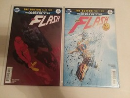 THE FLASH #21 - 3D - THE BUTTON STORY-LINE - FREE SHIPPING - $14.03