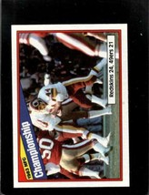 1984 Topps #8 1983 Nfc Championship Nm *A32234 - $2.97
