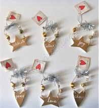 Sandra Magsamen Department 56 Holiday Gift / Tree Ornaments Set of 6 - $25.00