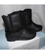 Koala Kids Toddler Girls  Black  Boots Size 8 Shoes NWT - $14.29