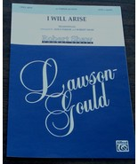 I Will Arise, Alice Parker, Robert Shaw 1988  OLD SHEET MUSIC - GREAT MUSIC - $5.93