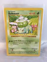 Basic Pokémon: Bulbasaur (44/102) Card - Pokémon Collectible Trading Card Game - $5.00
