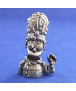 Clue Simpsons Marge Mrs. Peacock Token Replacement Pewter Piece 1st Edit... - $9.99