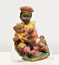 Young's Inc African American Little Girl Carved... - $11.64