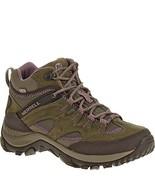 Merrell Women's Salida Mid Waterproof Hiking Boot,Brindle,5 M US - $165.91