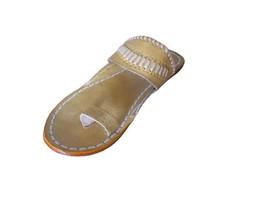 Jutti Indian Handmade Leather Men Shoes Slippers Ethnic Flip-Flops Flat ... - $59.14 CAD