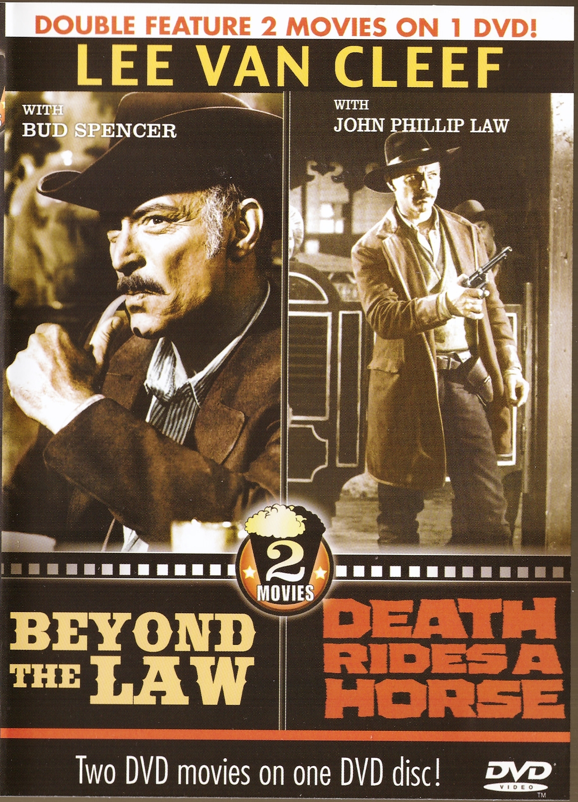 Beyond the law  death rides a horse dvd double feature lee van cleef western  1