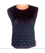 St. John Sport by Marie Gray - Black Knit Top Medium EUC - $83.00