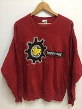 Vintage Peanuts Snoopy Woodstock Big Cartoon Logo Sweatshirt Streetwear - $70.00