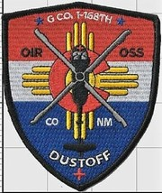 """US Army New Mexico/Colorado Army Guard G Co 1-168th Dustoff Full Color 4"""" Patch  - $13.85"""