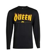 Couple Matching King Queen Long Sleeve Tee (2XL, Queen) - $19.59