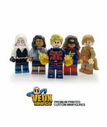 Marvel rising secret warriors custom minifigures set of 5 Captain Marvel, spider - $22.44