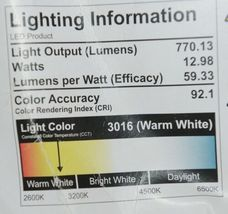 Project Source 0749834 LED Flushmount Ceiling Fixtures Two Count image 5