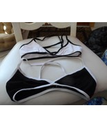 Lot of 2 girls/juniors white & black bra size L by freestyle by Danskin - $7.25