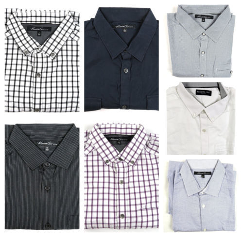 Kenneth Cole New York Shirt Men's Regular Fit Long Sleeve Button-down Group A