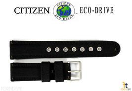Citizen Eco-Drive BM8475-00X 22mm (lungo) Nylon Nero Cinturino Orologio ... - $61.54