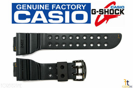 CASIO G-Shock Frogman GW-200MS 18mm Rusty Black Rubber Watch BAND Strap  - $99.95