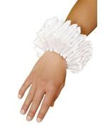 Women's Jester Medieval Ruffled Hand Wrist Halloween Costume Accessory - $13.00