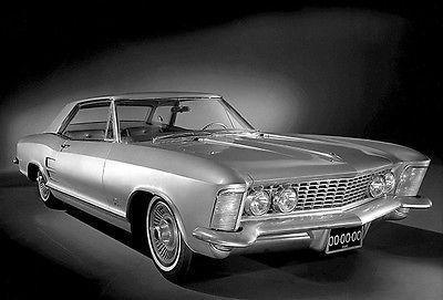 Primary image for 1963 Buick Riviera - Promotional Photo Poster